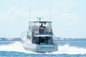 front of Gulfstream II